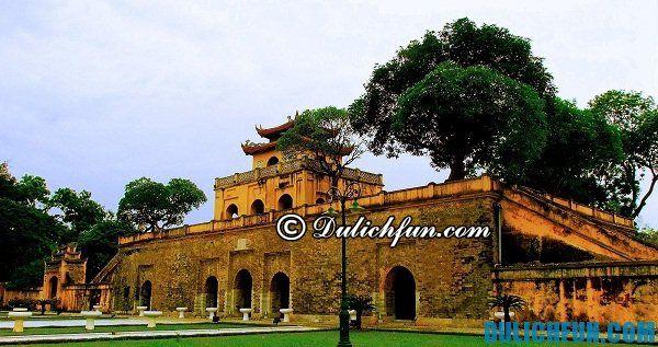 Hoàng thành Thăng Long di tích lịch sử nổi tiếng Hà Nội