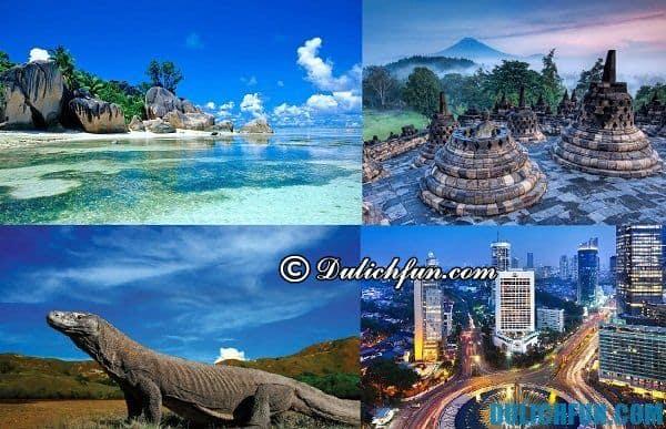 Điểm du lịch đẹp ở Indonesia
