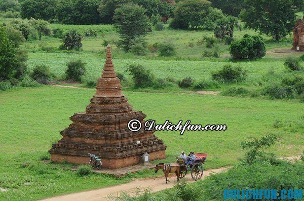 Hướng dẫn du lịch Myanmar - phương tiện di chuyển