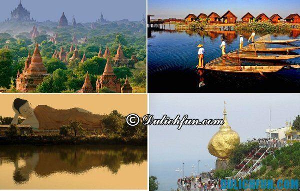 Kinh nghiệm du lịch Myanmar - địa điểm nổi tiếng và hấp dẫn