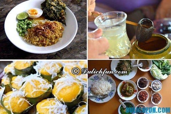 Hướng dẫn du lịch bụi Myanmar - món ăn ngon và địa chỉ ăn uống