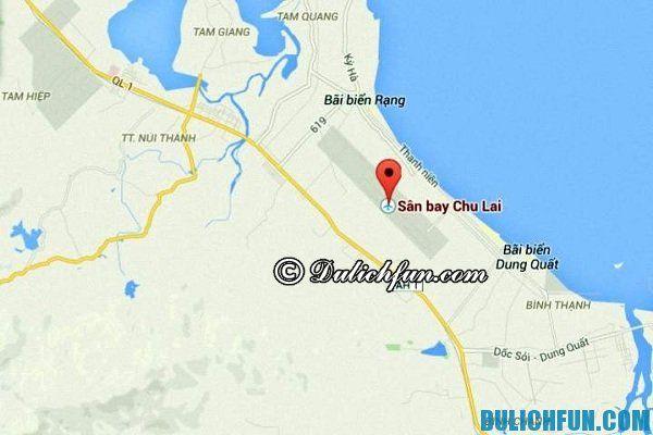 Hướng dẫn du lịch Quảng Ngãi - Phương tiện di chuyển tới Quảng Ngãi. Du lịch Quảng Ngãi bằng phương tiện gì?
