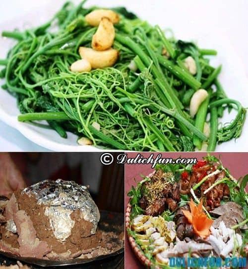 Những món ăn ngon ở Tam Đảo