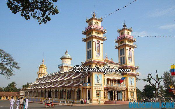 ĐIểm du lịch nên tới ở Tây Ninh