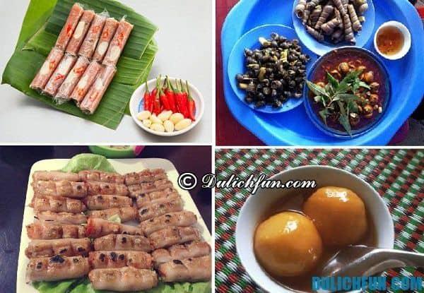 Hướng dẫn du lịch Thanh Hóa - Đặc sản Thanh Hóa. Kinh nghiệm ăn uống khi du lịch Thanh Hóa