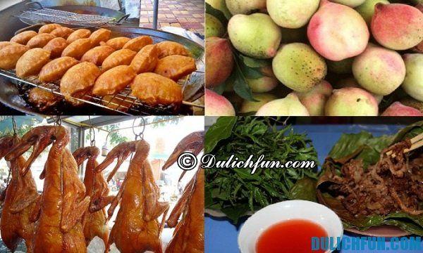 Kinh nghiệm phượt Lạng Sơn - Thưởng thức món ăn ngon