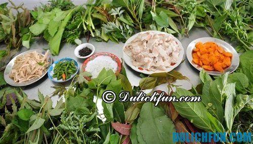 Du lịch Đắk Nông ăn gì ngon? Lẩu lá rừng đặc sản của Đắk Nông