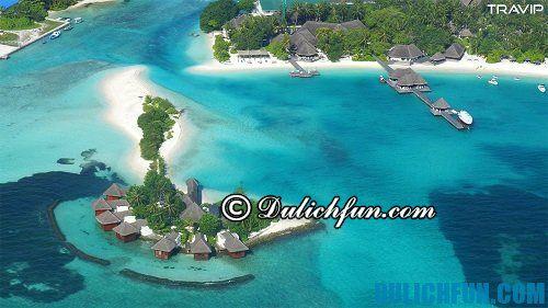 Tổng hợp kinh nghiệm du lịch Maldives: lịch trình ăn uống, ngủ nghỉ