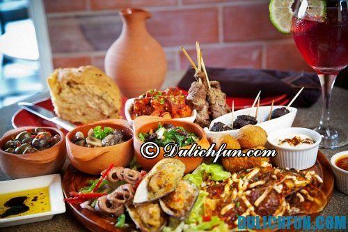 Những món ăn nổi tiếng của Tây Ban Nha
