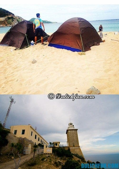 Top những địa điểm cắm trại đẹp nhất ở Ninh Thuận
