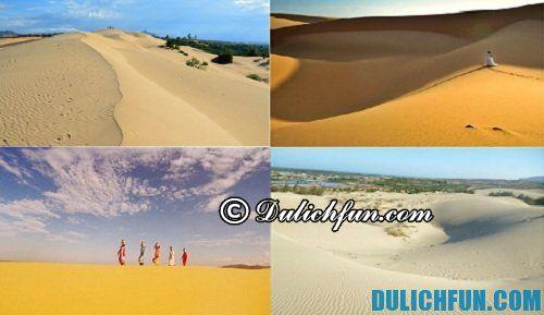 Du lịch Ninh Thuận ở đâu đẹp? Du lịch bãi cát Nam Cường