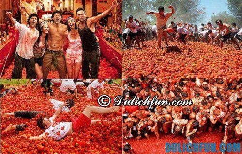 Những lễ hội nổi tiếng của Tây Ban Nha