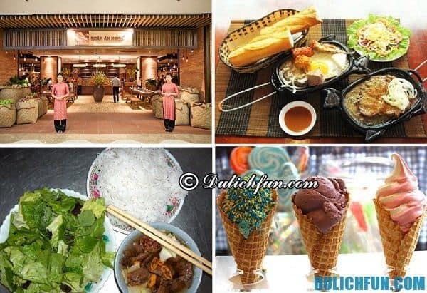 Món ăn ngon khi du lịch Sài Gòn ở Quận 1