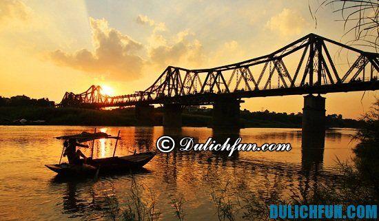 Cầu Long Biên chứng nhân lịch sử, điểm du lịch chụp ảnh tuyệt vời tại Hà Nội
