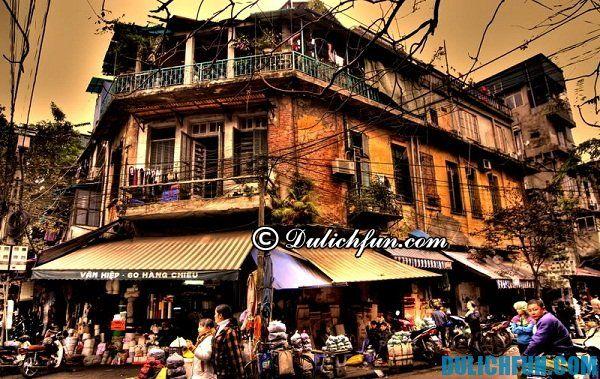 Khu phố cổ là điểm du lịch đẹp hấp dẫn tại thủ đô Hà Nội