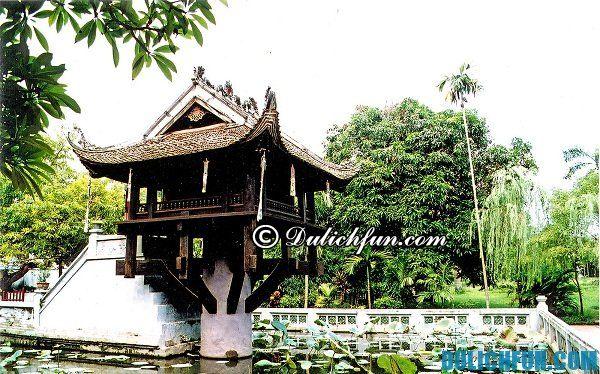 Di sản văn hóa thế giới chùa Một Cột, điểm du lịch nổi tiếng ở Hà Nội