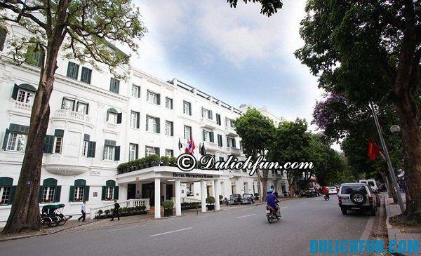 Top khách sạn 5 sao hàng đầu Hà Nội