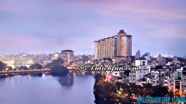 Danh sách những khách sạn đẹp nhất Hà Nội