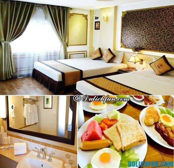 Khách sạn giá rẻ gần hồ Hoàn Kiếm đẹp