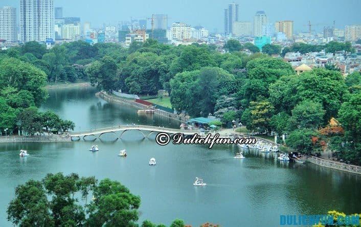 Điểm du lịch hấp dẫn Hà Nội