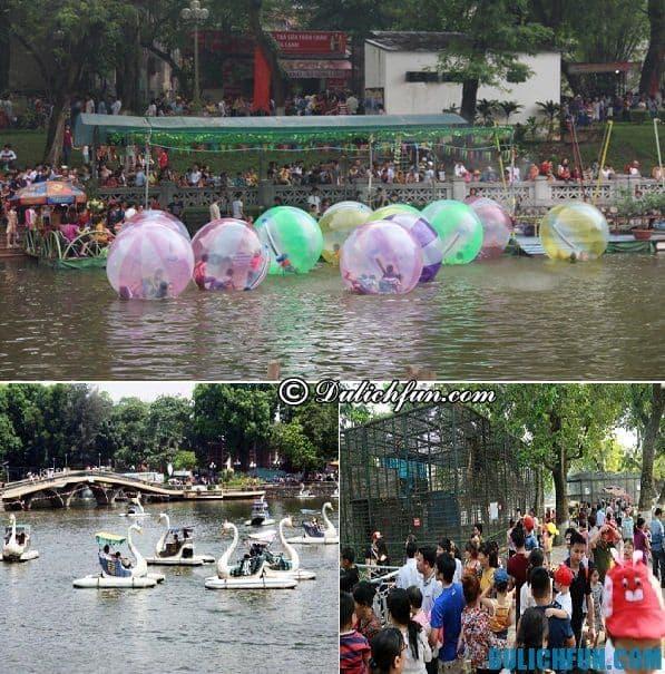 Điểm vui chơi giải trí ở Hà Nội không thể bỏ qua