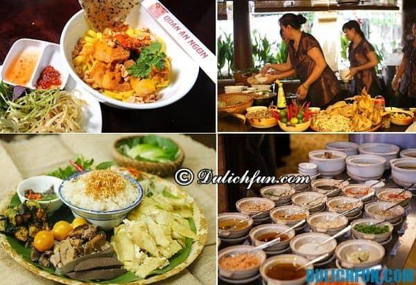 Quán ăn ngon nổi tiếng Hà Nội