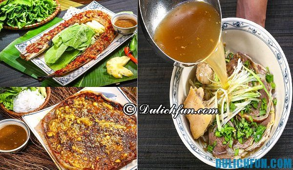 Quán ăn ngon ở Hà Nội chuyên món ăn miền Trung