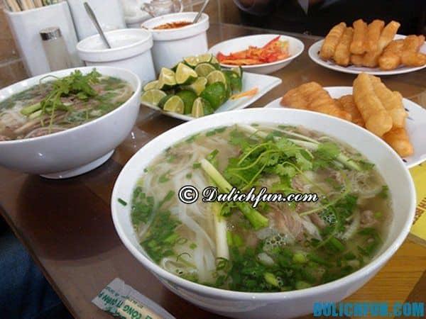 Quán phở ngon nhất ở Hà Nội