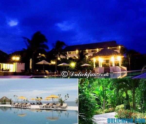 Resort đẹp, gần biển ở Mũi Né