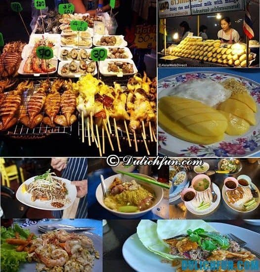 Kinh nghiệm du lịch Bangkok - Món ăn ngon