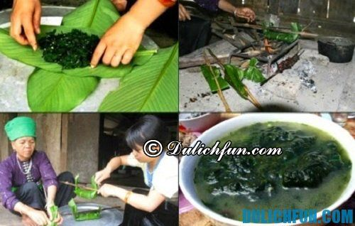 Kinh nghiệm du lịch Phú Thọ: Đặc sản Phú Thọ rêu đá