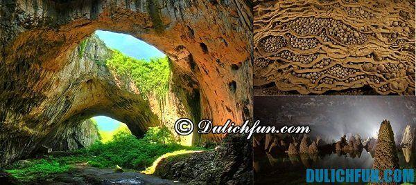 Điểm du lịch nổi tiếng ở Quảng Bình