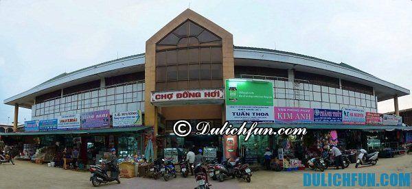 Điểm tham quan mua sắm tại Quảng Bình