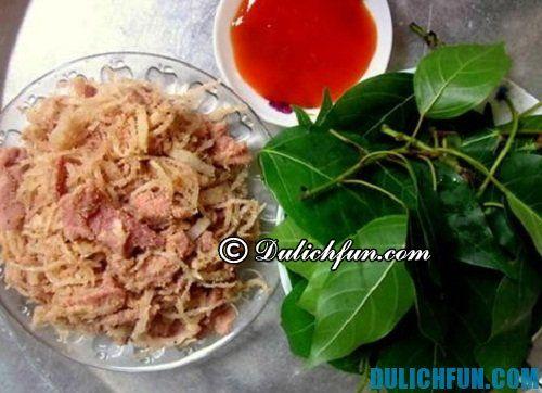 Những món ăn đặc sản của Phú Thọ