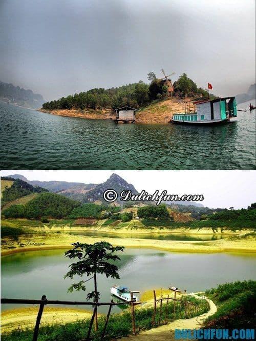 Kinh nghiệm tổng hợp du lịch Tây Bắc: du lịch Thung Nai
