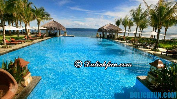 Nơi lưu trú ở Philippines. Kinh nghiệm du lịch Philippines