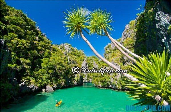 Kinh nghiệm du lịch Philippines. Điểm du lịch đẹp ở Philippines