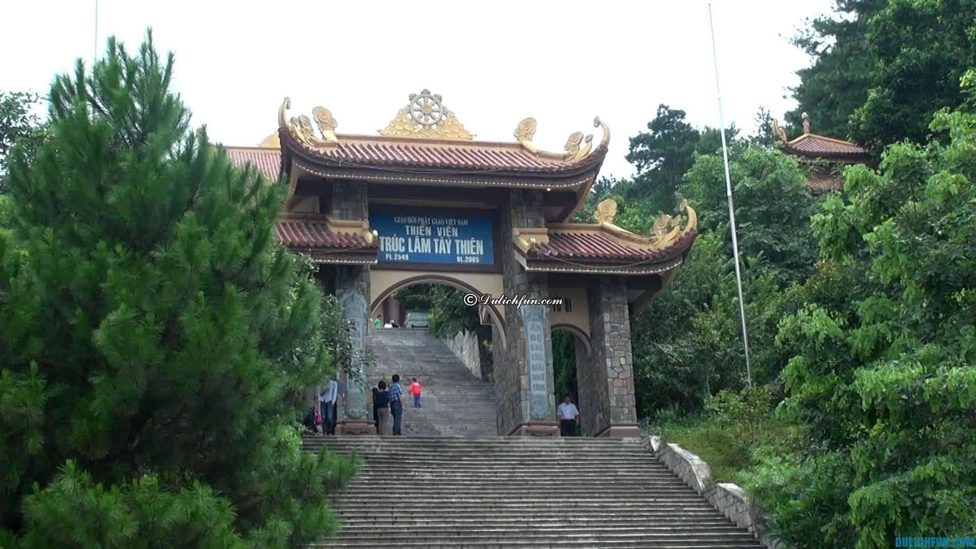 Khu du lịch thiền viện Trúc Lâm Tây Thiên điểm tham quan nổi tiếng ở Vĩnh Phúc