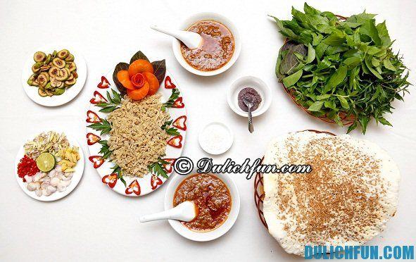 món ăn ngon nổi tiếng Thái Bình