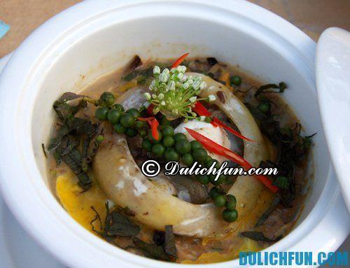 Món ăn trông kinh dị nhưng độc đáo và ngon tại Phú Yên: Kinh nghiệm ăn uống khi du lịch Phú Yên