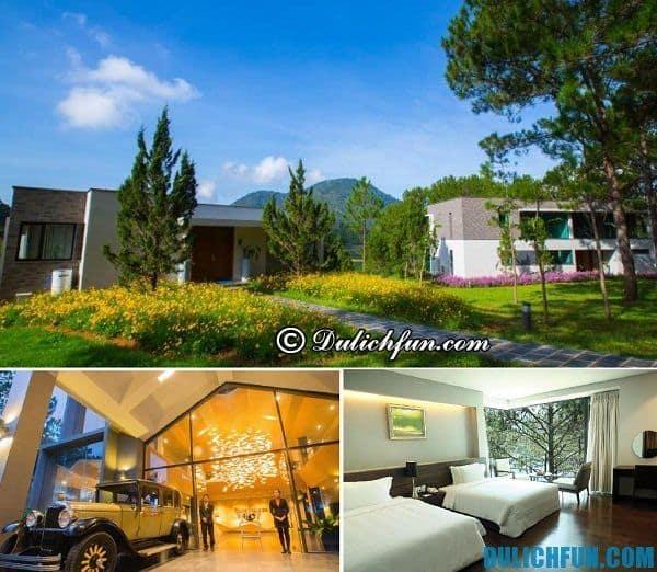 Khách sạn đẹp, chất lượng tốt ở Đà Lạt: Resort nghỉ dưỡng tiện nghi ở Đà Lạt giá hợp lý