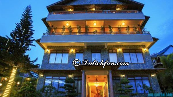 Khách sạn có vị trí tốt và view đẹp ở Đà Lạt: Tư vấn đặt phòng khách sạn ở Đà Lạt chất lượng tốt, tiện nghi đầy đủ