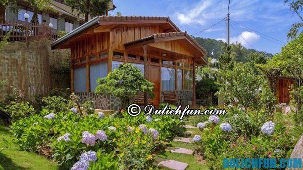 Tư vấn khách sạn nghỉ dưỡng tốt nhất ở Đà Lạt: khách sạn gần khu du lịch nổi tiếng ở Đà Lạt