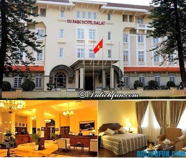 Nơi lưu trú tốt ở Đà Lạt: Đặt phòng khách sạn ở Đà Lạt tiện nghi, vị trí đẹp