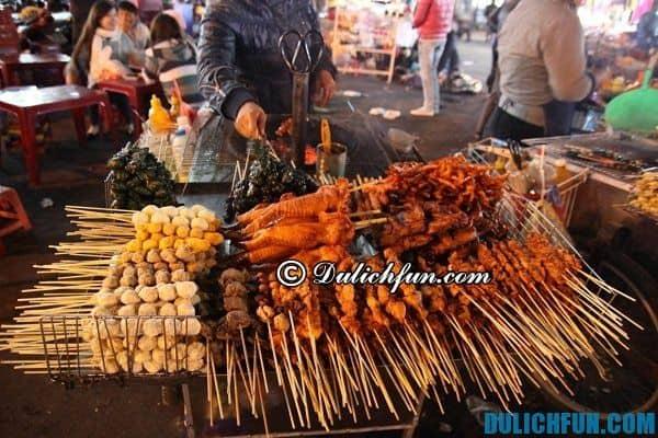 Chợ đêm Đà Lạt - điểm đến vui chơi thú vị nhất ở Đà Lạt về đêm