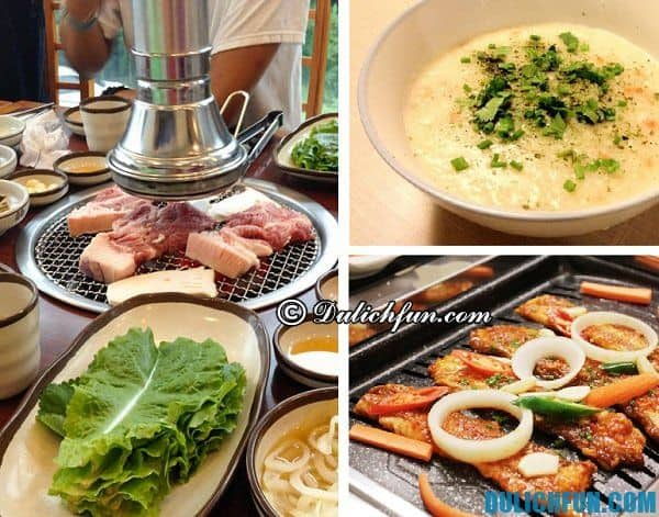 Kinh nghiệm du lịch đảo Jeju, Hàn Quốc - ẩm thực, món ngon nổi tiếng