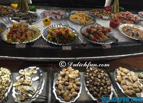 Ăn ở đâu khi đến du lịch Nha Trang giá bình dân gần biển