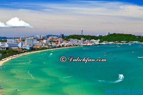 Bãi biển Jomtien- những bãi biển nổi tiếng đẹp ở Pattaya làm say đắm lòng người. Bãi biển xinh đẹp ở Pattaya