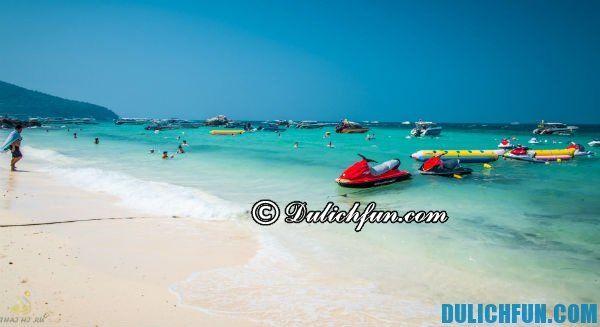 Bãi biển Koh Larn, những bãi biển xanh đẹp ở Pattaya, điểm danh những bãi biển nổi tiếng đẹp ở Pattaya