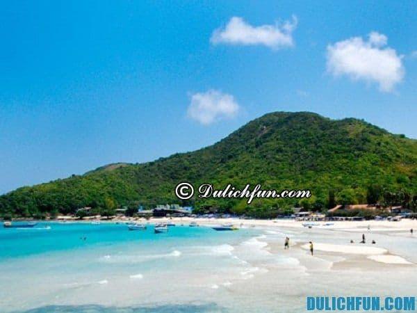 Những bãi biển đẹp nổi tiếng ở Pattaya, bãi biển quanh đảo Sak, những bãi biển đẹp ở Pattaya